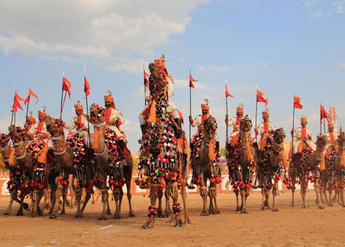 Jaisalmer Desert Festival will begin on 17 Feb 2019 to 19 Feb 2019