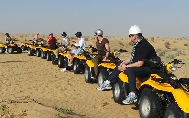 Things to do in jaisalmer with quad bike