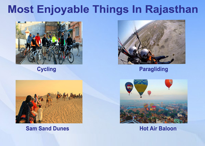 Most Enjoyable Things in Rajasthan