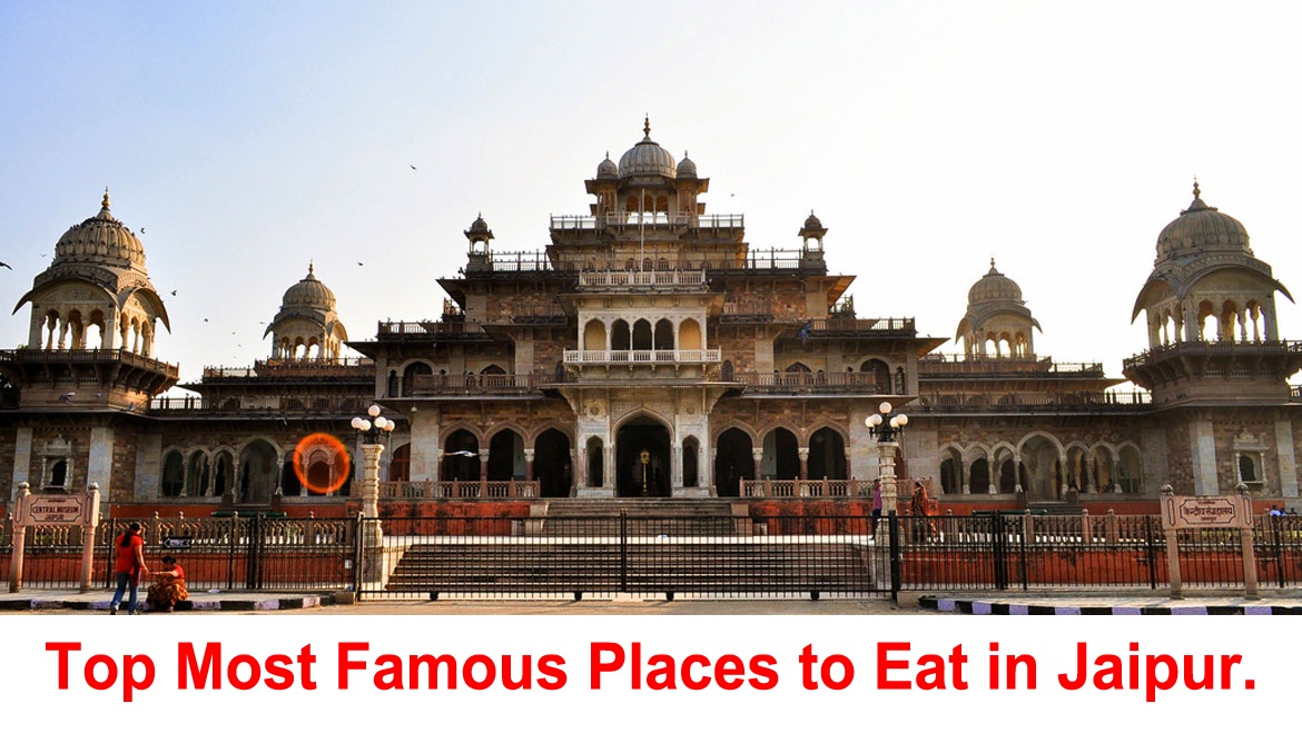 Top Most Famous Places to Eat in Jaipur